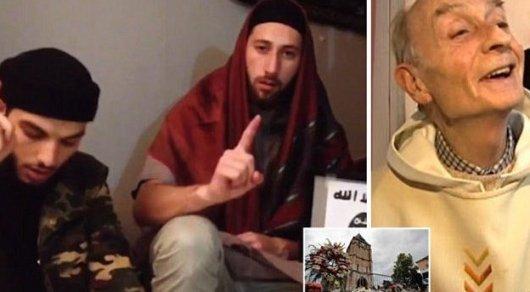 Опубликованы фото двух палачей, перерезавших горло священнику во Франции