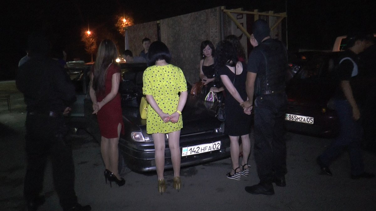 Проституток задержание ивановских
