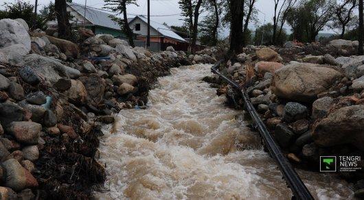 На реках близ Алматы вновь ожидаются паводки