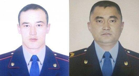 Дополнительную помощь окажут семьям полицейских, скончавшихся в больнице Алматы