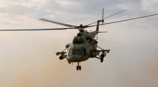 Российский вертолет сбили в Сирии