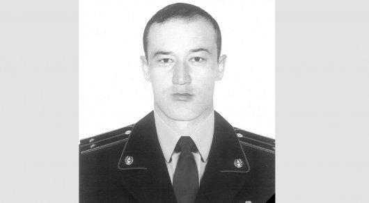 Погибшего в Алматы полицейского похоронят в родном селе в ЮКО