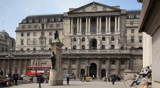 Банк Англии прогнозирует резкое замедление темпов роста ВВП Великобритании