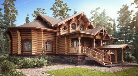 Составлен топ-5 самых дорогих деревянных домов в Алматы