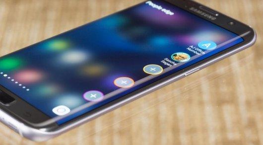 Samsung откажется от смартфонов с плоскими экранами