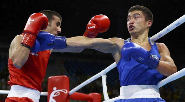 Кайрат Ералиев (справа) Фото © REUTERS