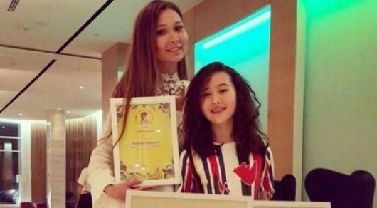 11-летняя Жанель Садуакас стала призером