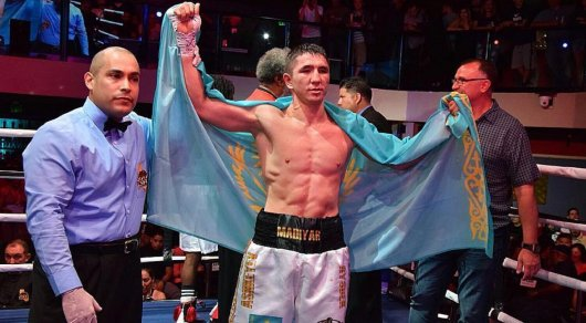 Казахстанский боксер Мадияр Ашкеев одержал пятую победу на профи-ринге