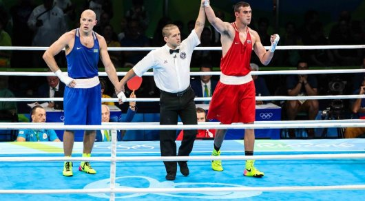 Судьи финального боя Левита и казахстанский рефери отстранены от Олимпиады