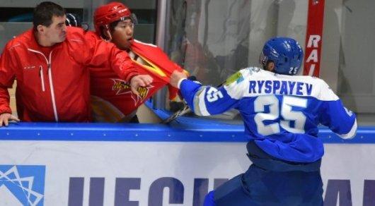 КХЛ может отменить дисквалификацию Дамира Рыспаева в случае его раскаяния