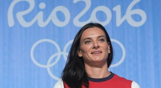 Участники Олимпийских игр вРио-де-Жанейро выбрали Исинбаеву вкомиссию спортсменов МОК
