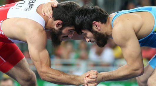 Казахстанский борец Усербаев остался без медали Олимпиады