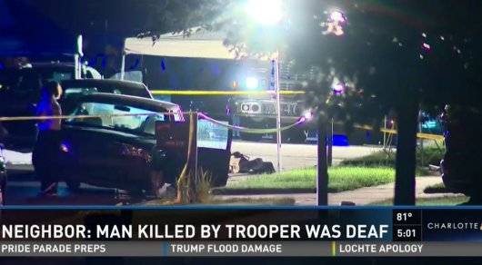 Полицейский вСША застрелил глухонемого водителя
