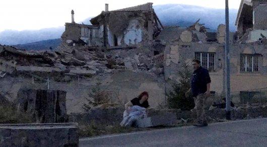 Вцентральной Италии произошла серия землетрясений