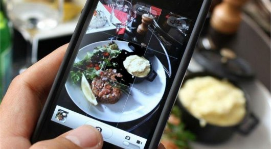 Всоцсети Инстаграм определили самый известный снимок еды
