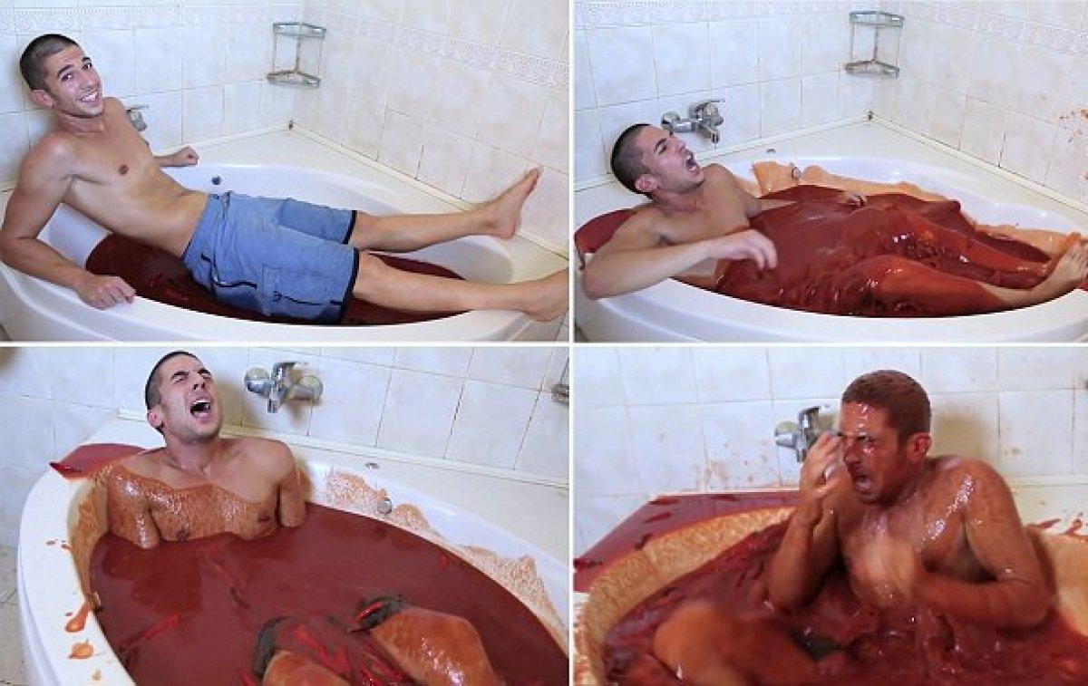 видео мыть свой мужчина как член
