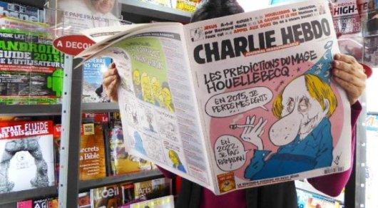 Charlie Hebdo высмеял землетрясения вИталии
