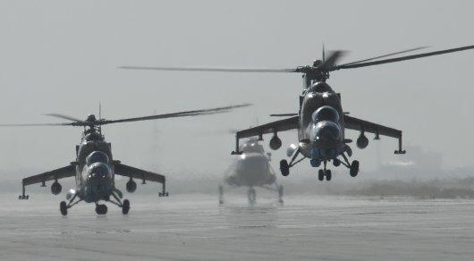 Россия поставит Казахстану 4 вертолета Ми-35М