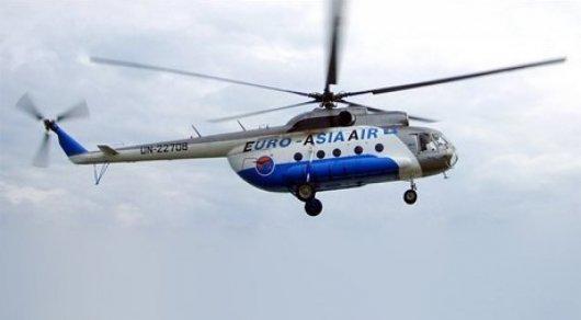 ВКызылординской области потерпел крушение вертолет Ми-8