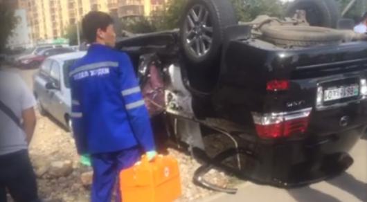 ДВД Астаны: Совершивший ДТП шофёр Лексус был трезв