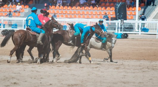 Казахстанец получил серьезные травмы на Играх кочевников в Кыргызстане