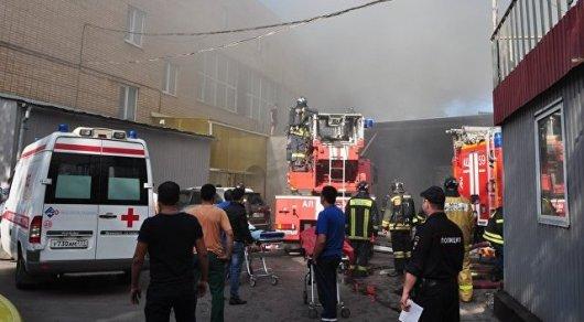 Все погибшие в крупном пожаре в Москве кыргызстанки работали легально