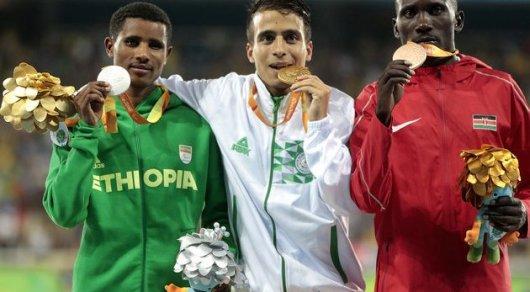 Паралимпийцы пробежали 1500 метров скорее  олимпийского чемпиона