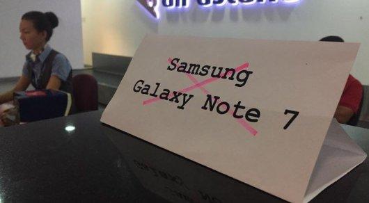В Самсунг  выдумали , как предотвратить перегрев ивзрыв Galaxy Note 7