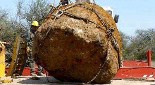 ВАргентине ученые обнаружили огромный метеорит— Уникальная находка
