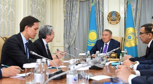 ПрезидентРК и минфин Гонконга обсудили вопросы взаимодействия