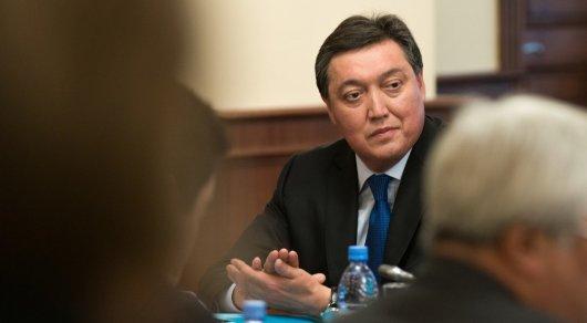 Аскар Мамин встретится с и.о. президента Узбекистана