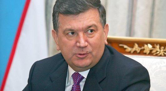 И.о. президента Узбекистана поблагодарил Назарбаева