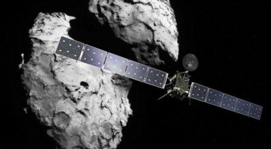 Космический аппарат направили на столкновение с кометой