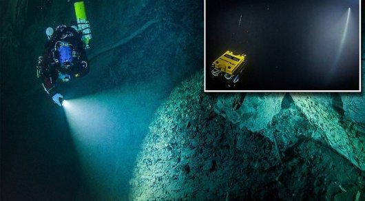 Ученые обнаружили самую глубокую подводную пещеру на Земле