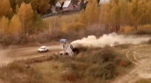 Судья умер на автомобильных гонках под Омском