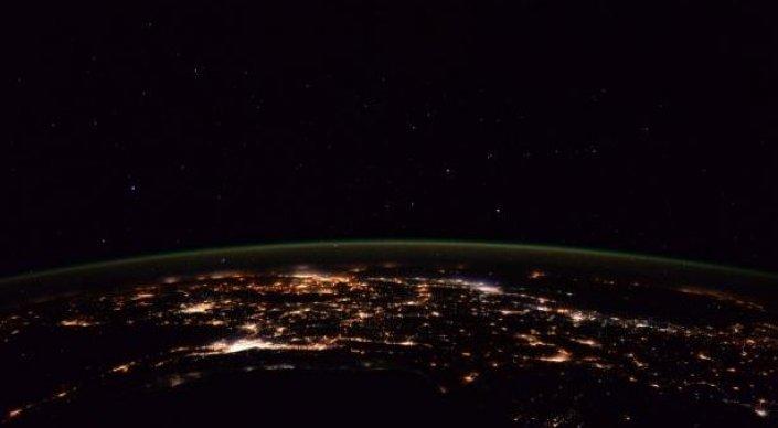 Астронавт NASA сделала фото ночной Земли из космоса