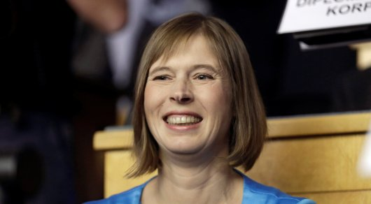 Президентом Эстонии впервые избрана женщина