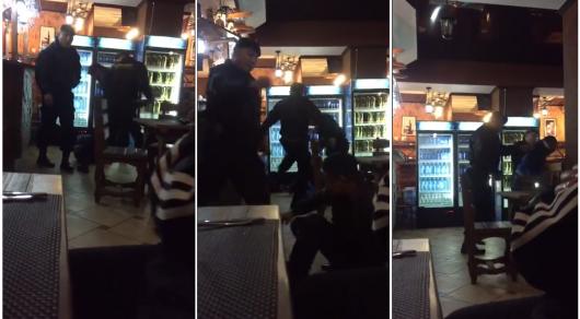 ВПавлодаре свидетели сняли навидео ожесточенное избиение гостей кафе охранниками