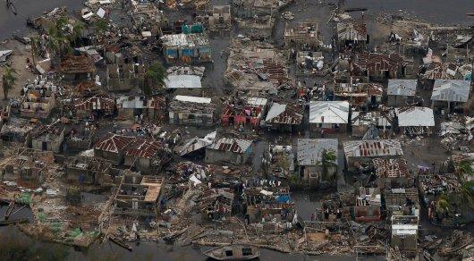 Казахстанцы попали в эпицентр урагана
