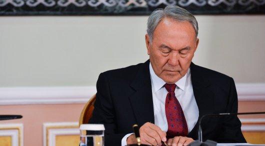 Назарбаев подписал поправки взакон отрансферте изНацфонда