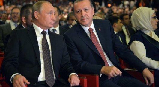 Путин прибыл вСтамбул