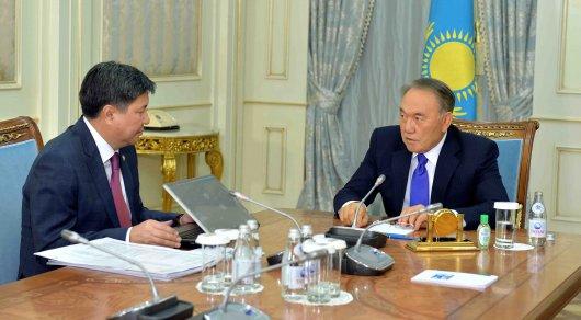 Назарбаев вернулся наработу после болезни