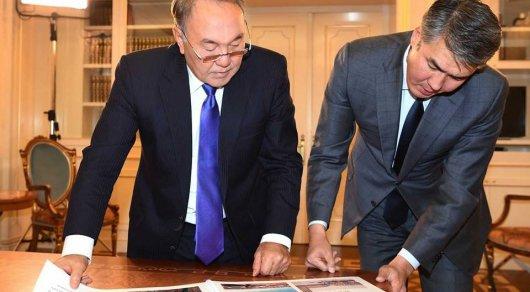 Асет Исекешев оповестил Нурсултану Назарбаеву оразвитии Астаны