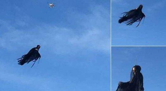 Американцев испугал летающий понебу «ангел смерти»