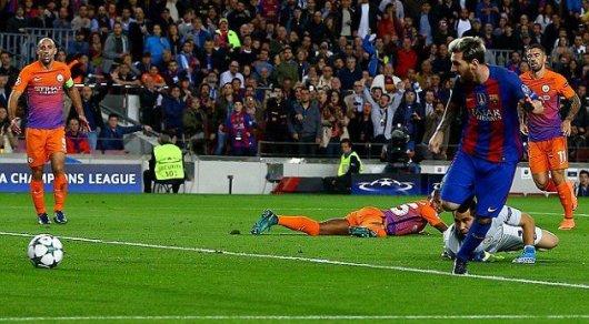 Ставки наспорт. «Барселона»— «Манчестер Сити»: Месси забьет