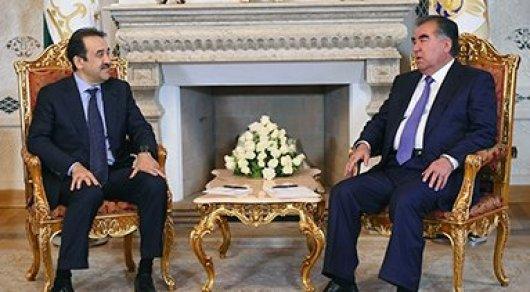 Карим Масимов встретился с президентом Таджикистана