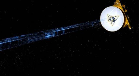Видеоматериалы сзонда New Horizons синформацией оПлутоне были привезены наЗемлю
