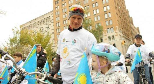 Винокуров возглавил велопробег в Нью-Йорке в честь 25-летия Независимости