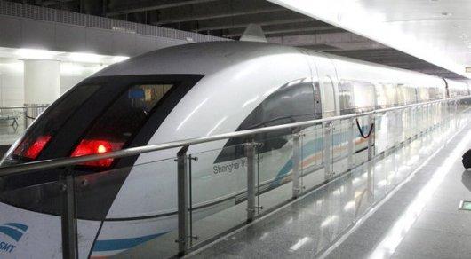 Китайский поезд разгонится до 600 километров в час