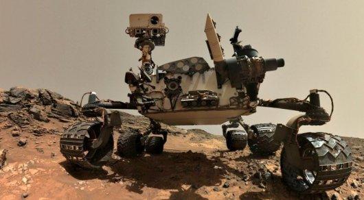 Curiosity обнаружил на Марсе металлический шар